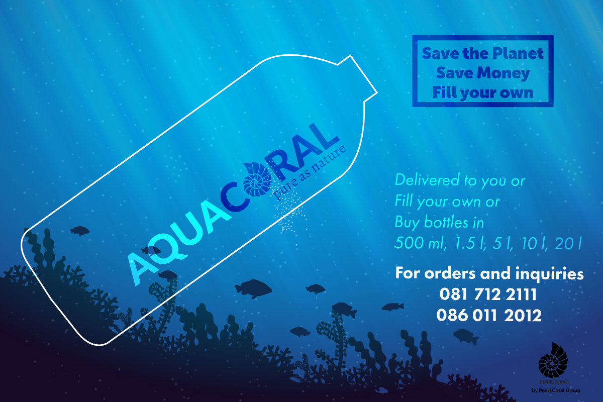 aqua-coral-purified water